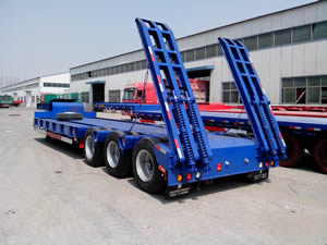 Common Lowboy Trailer