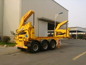 swing lift container trailers