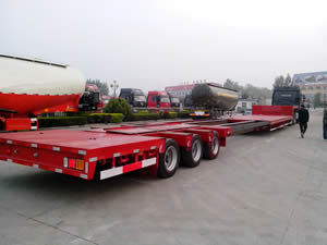 extendable lowboy trailer for sale