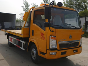 flatbed wrecker trucks for sale