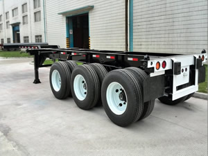 Extendable Container Chassis