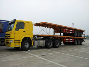 prime mover with trailer for sale