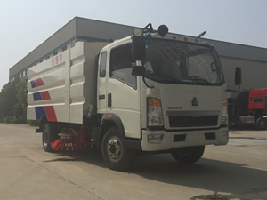 street sweeping trucks for sale