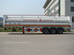 6 tubes cng tube trailer for sale