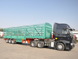 ground load livestock trailers for sale