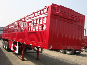 high bed semi trailer