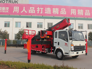 Insulated Manlift Truck