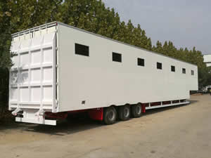 livestock trailer for transporting camel