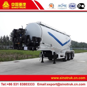 bulk cement transport trailer