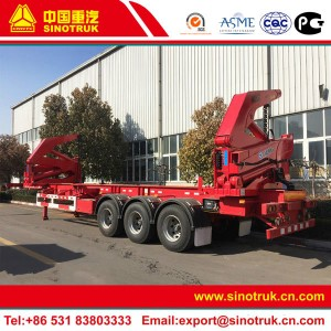 container side lift trailer