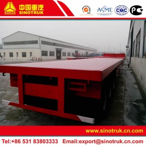 flatbed trailer china