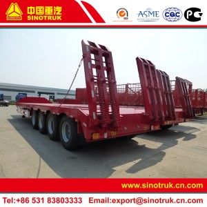 lowboy semi trailers for sale