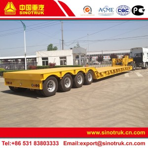 detachable neck lowboy trailer for sale