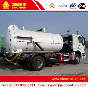 sewage vacuum trucks for sale